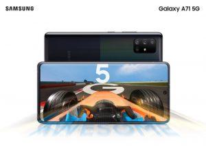 Galaxy A51 ve Galaxy A71 akıllı telefonlarının 5G versiyonlarını tanıtıldı