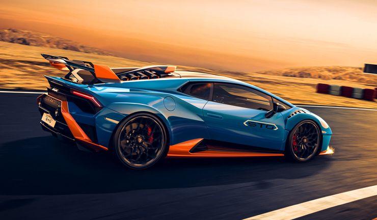 Lamborghini arkadan çekişli çok hafif Huracan