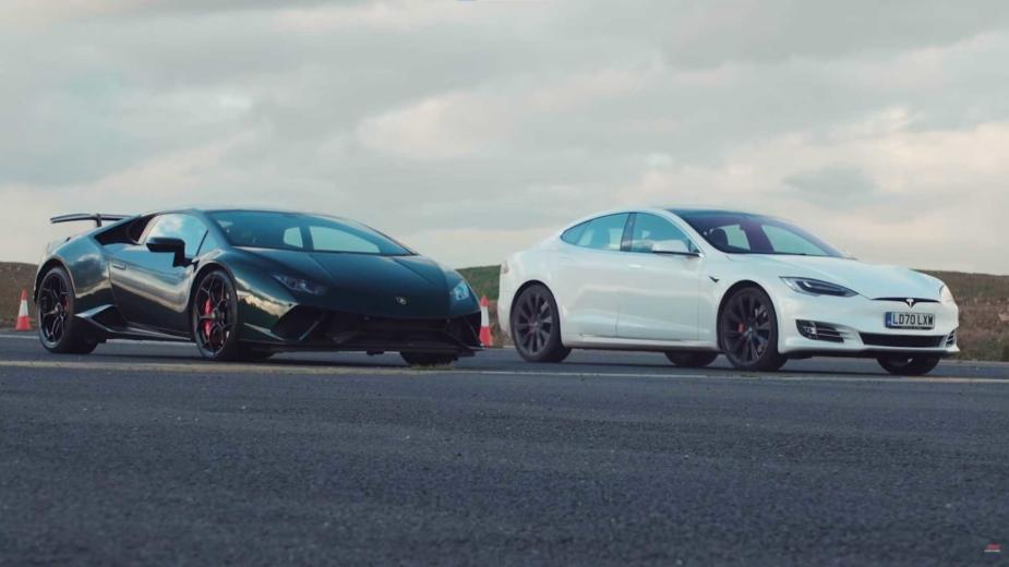 En güçlü Tesla Model S