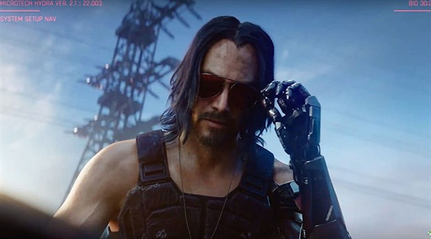 Keanu Reeves ile Cyberpunk 2077