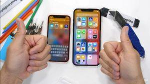 IPhone 12 mini ve IPhone 12 Pro Max dayanıklılık açısından test edildi: çizildi, yakıldı ve kırılmaya çalıştı
