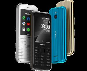 Nokia 8000 4G: 79 € fiyata 4G ve 2,8″ Ekranlı ve Tuşlu Telefon