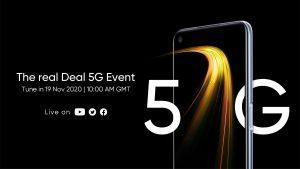 Resmi : Realme 7 5G, 19 Kasım'da Avrupa'da görücüye çıkacak
