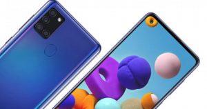 Samsung Galaxy M12'yi piyasaya sürmeye hazırlanıyor.