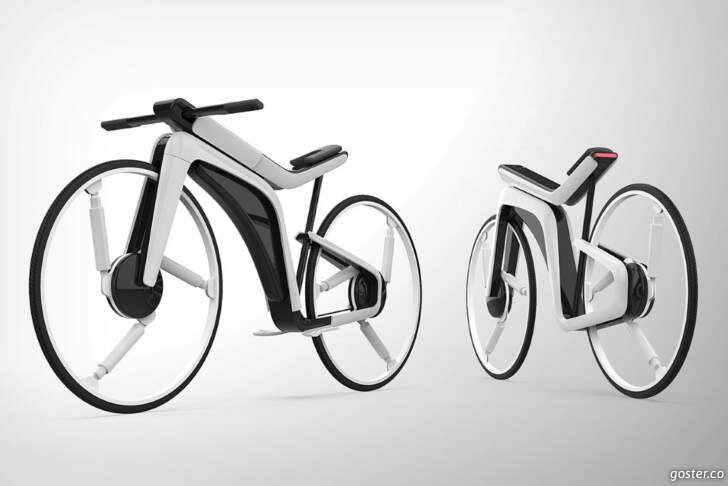 Otomatik pilotlu bir bisiklet
