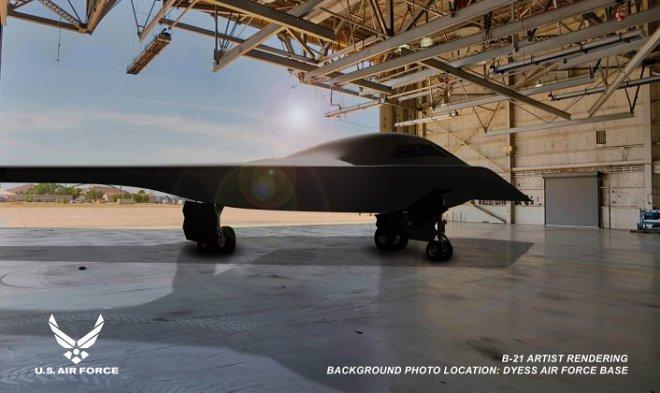 ABD Hava Kuvvetleri, uzun yıllardır B-21 Raider bombardıman uçağının ilk görüntülerini yayınladı